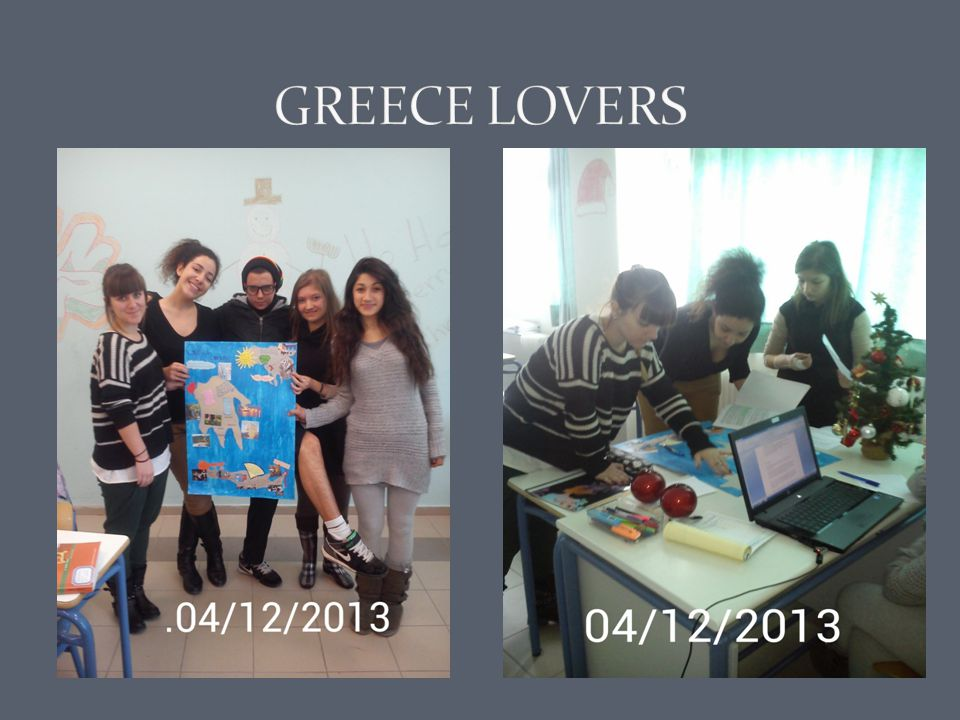 GREECE LOVERS