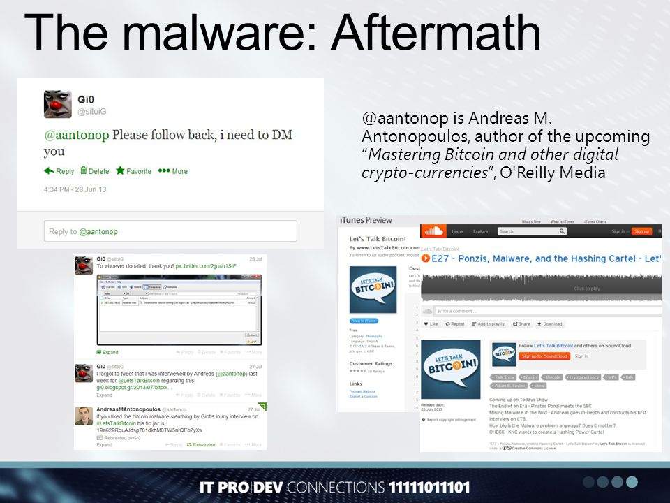 The malware: Aftermath