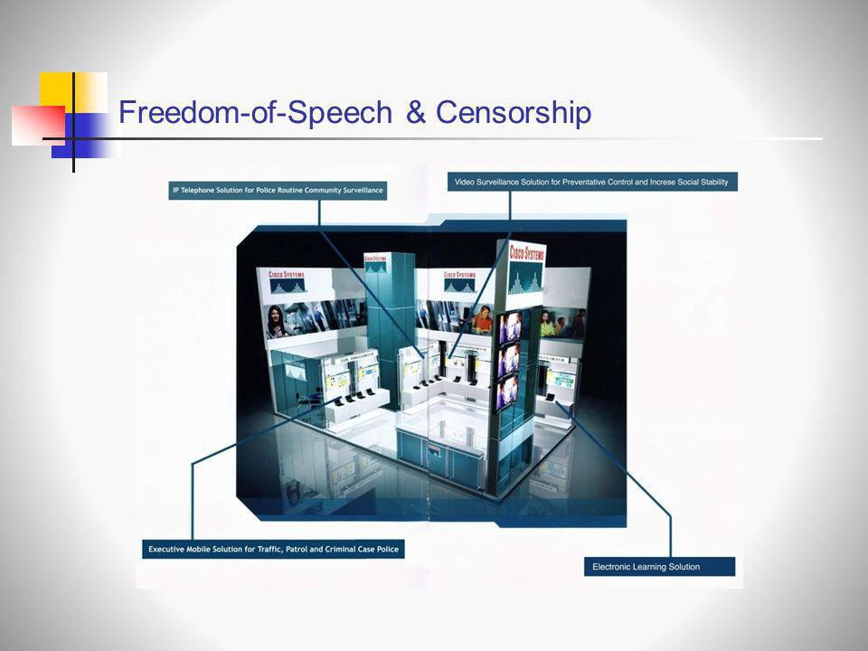 Freedom-of-Speech & Censorship
