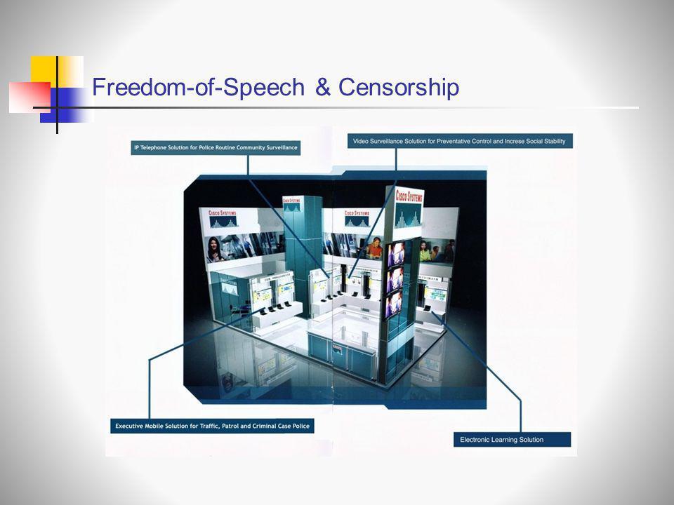 Freedom-of-Speech & Censorship