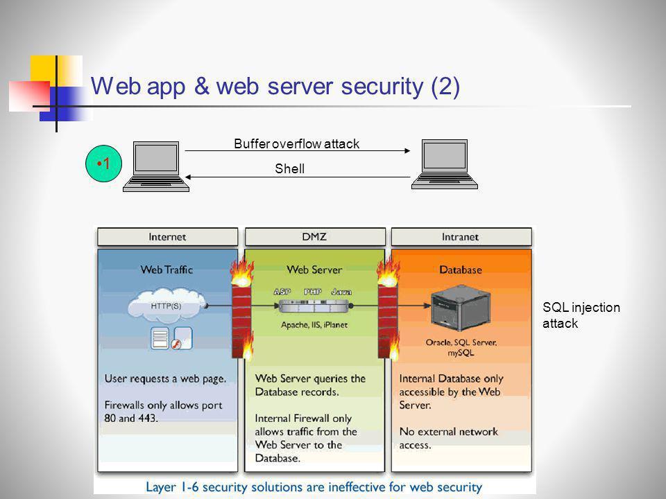 Web app & web server security (2)