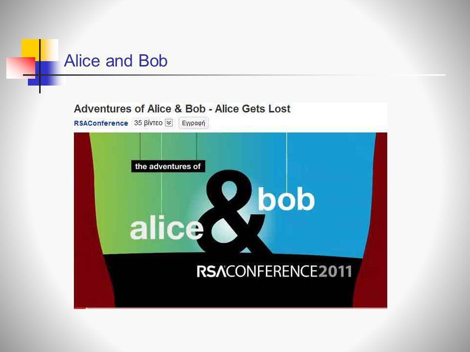 Alice and Bob