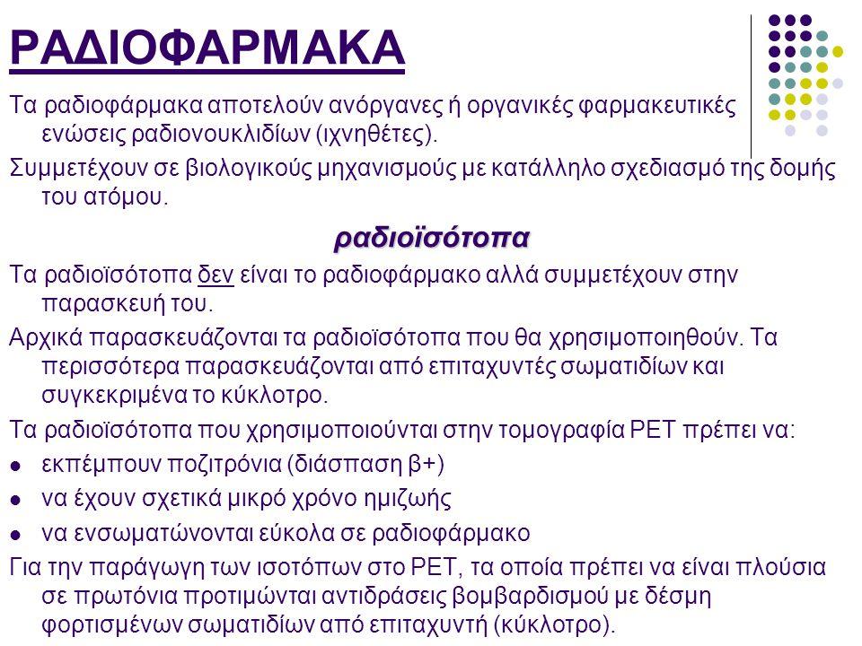 ΡΑΔΙΟΦΑΡΜΑΚΑ ραδιοϊσότοπα