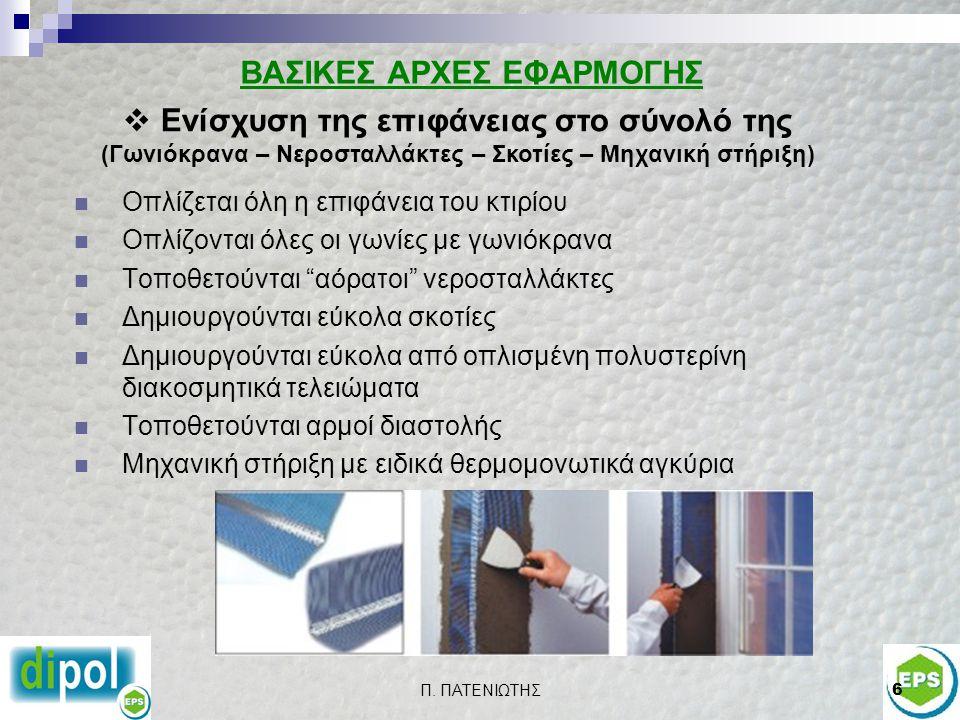 ΒΑΣΙΚΕΣ ΑΡΧΕΣ ΕΦΑΡΜΟΓΗΣ