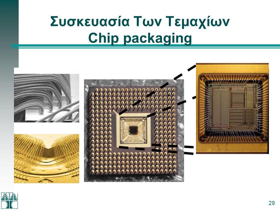 Συσκευασία Tων Tεμαχίων Chip packaging