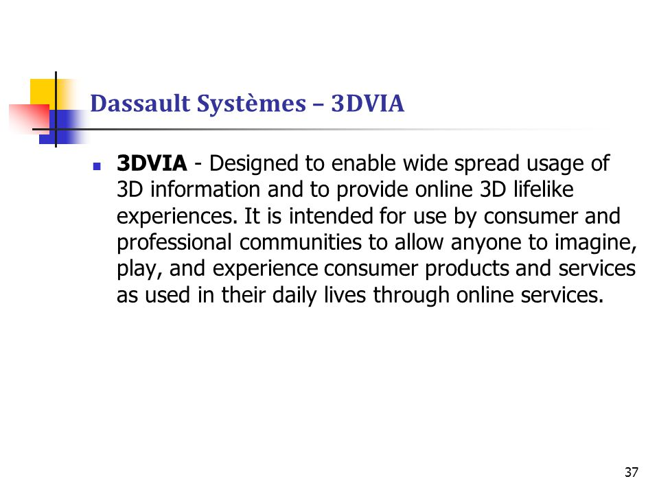 Dassault Systèmes – 3DVIA