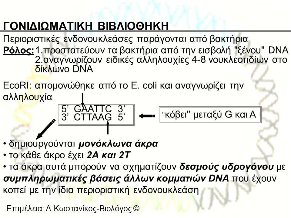 ΓΟΝΙΔΙΩΜΑΤΙΚΗ ΒΙΒΛΙΟΘΗΚΗ