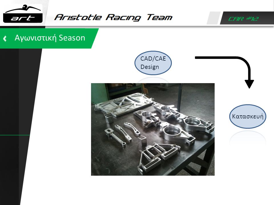Αγωνιστική Season CAD/CAE Design Κατασκευή