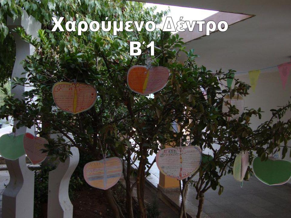 Χαρούμενο Δέντρο Β΄1