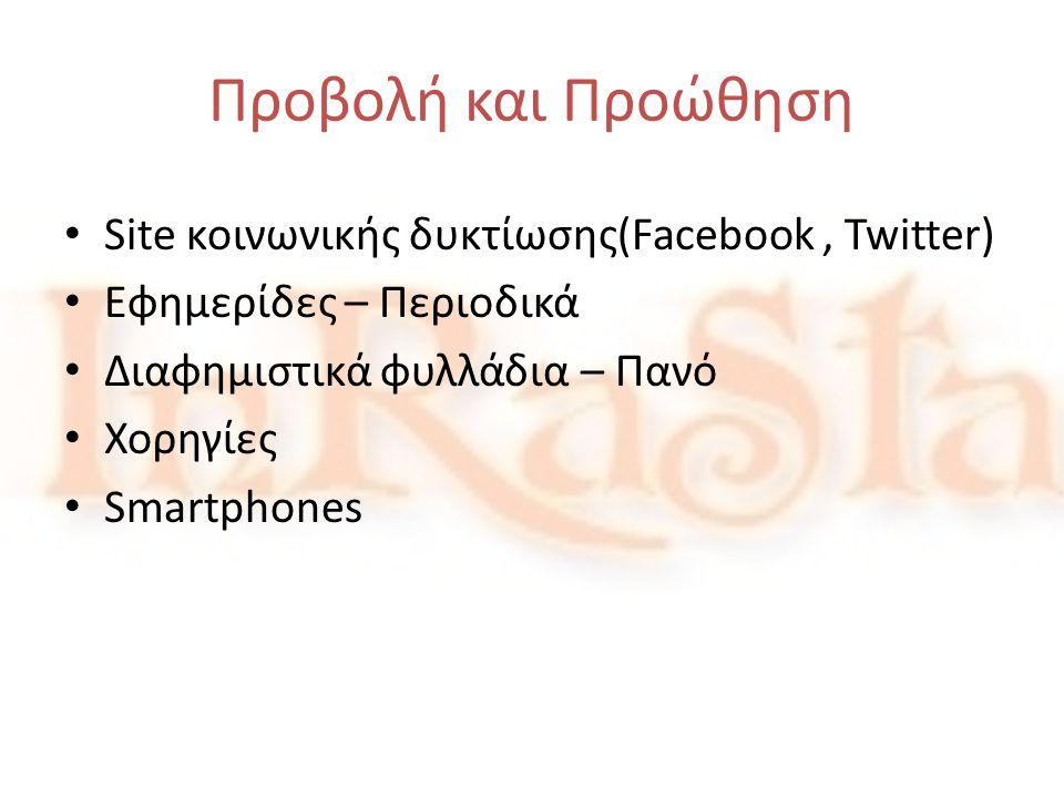 Προβολή και Προώθηση Site κοινωνικής δυκτίωσης(Facebook , Twitter)