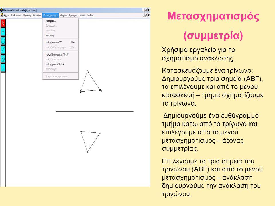 Μετασχηματισμός (συμμετρία)