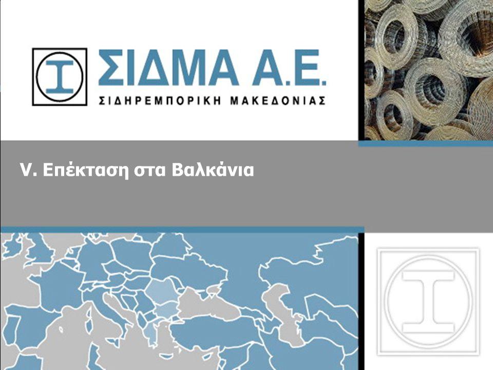 V. Επέκταση στα Βαλκάνια