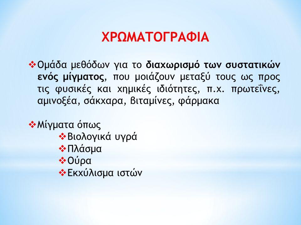 ΧΡΩΜΑΤΟΓΡΑΦΙΑ