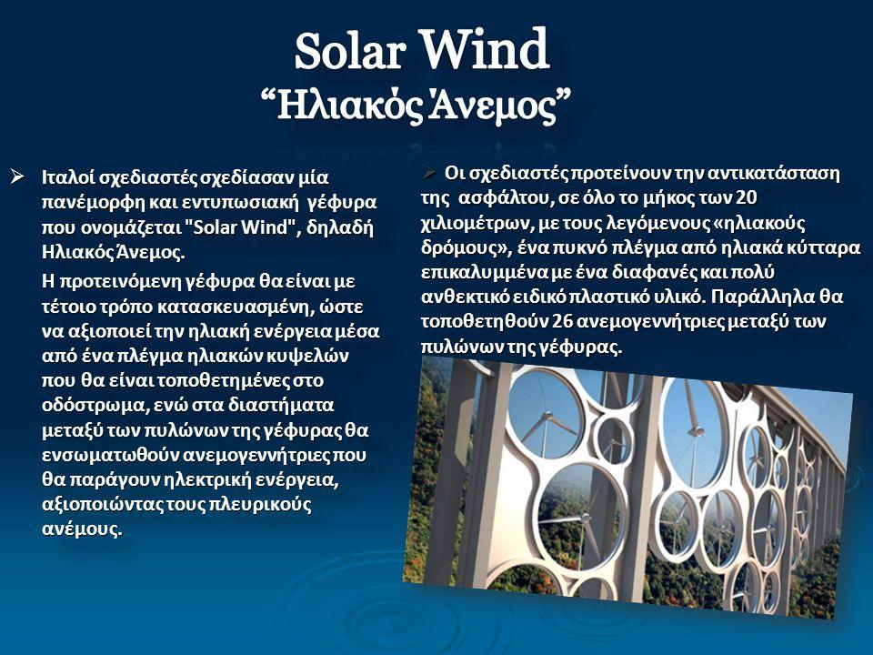 Solar Wind Ηλιακός Άνεμος
