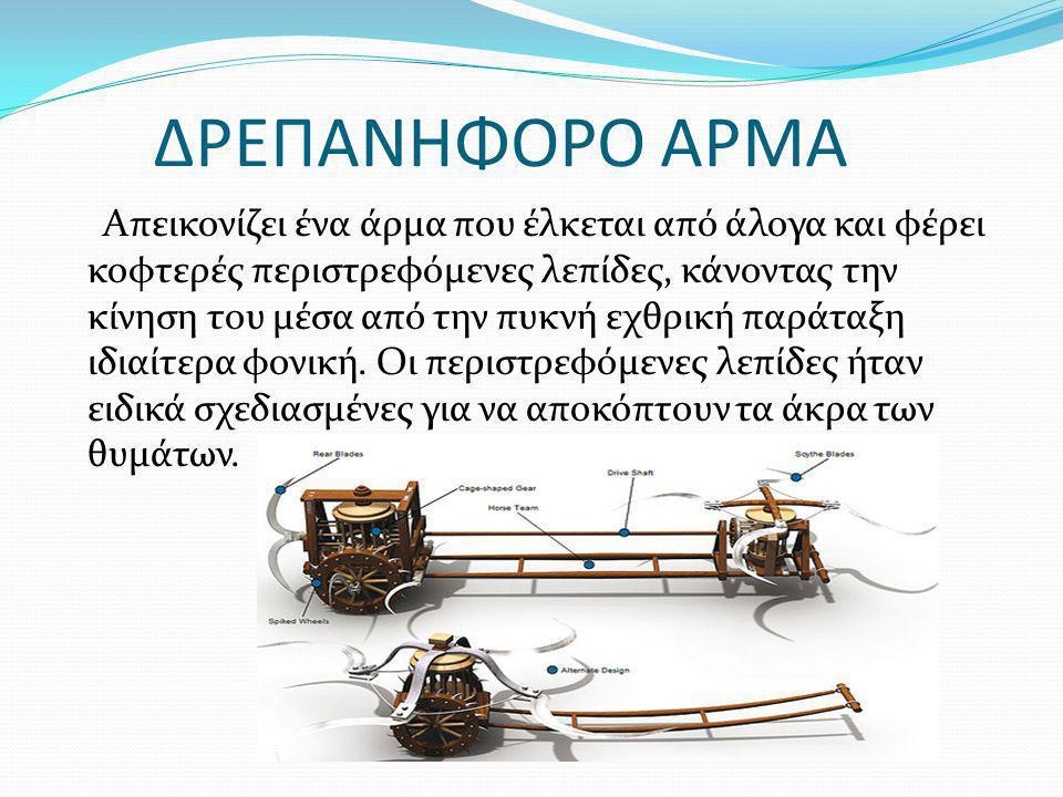 ΔΡΕΠΑΝΗΦΟΡΟ ΑΡΜΑ