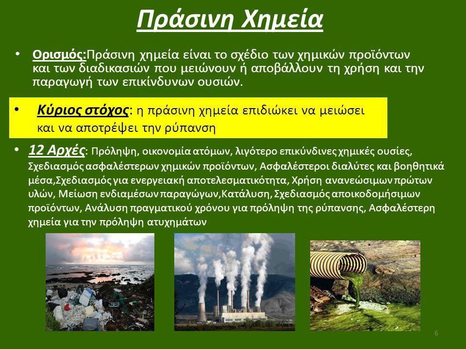 Πράσινη Χημεία