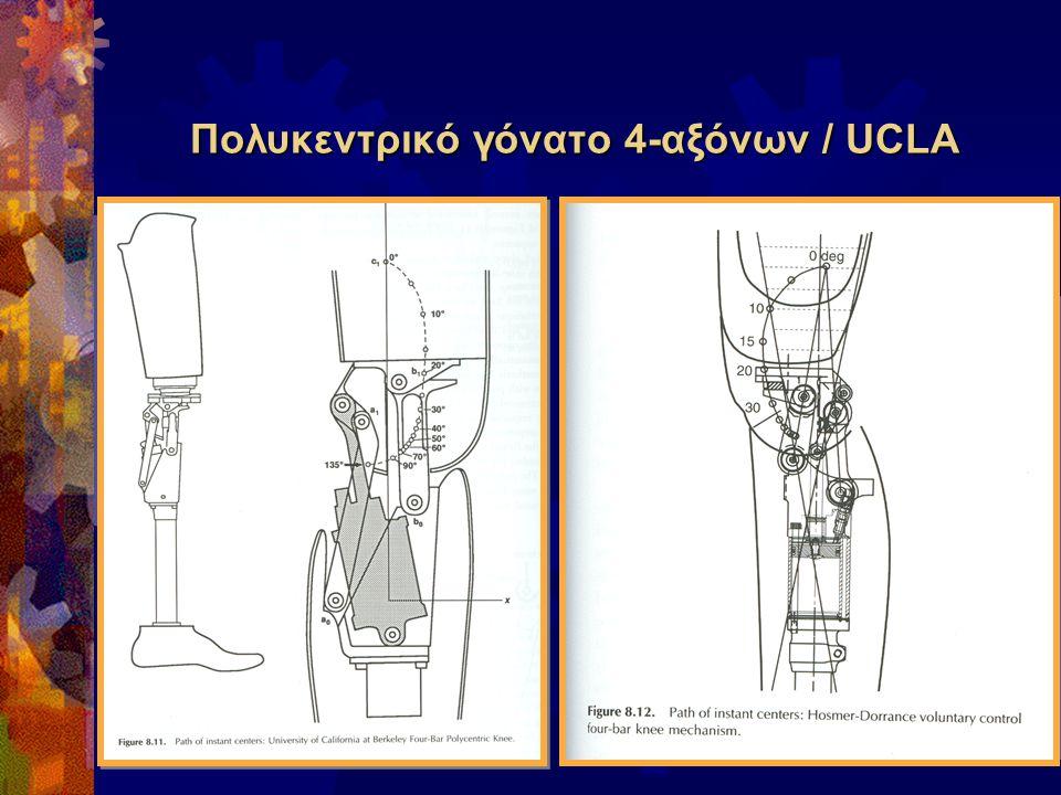 Πολυκεντρικό γόνατο 4-αξόνων / UCLA
