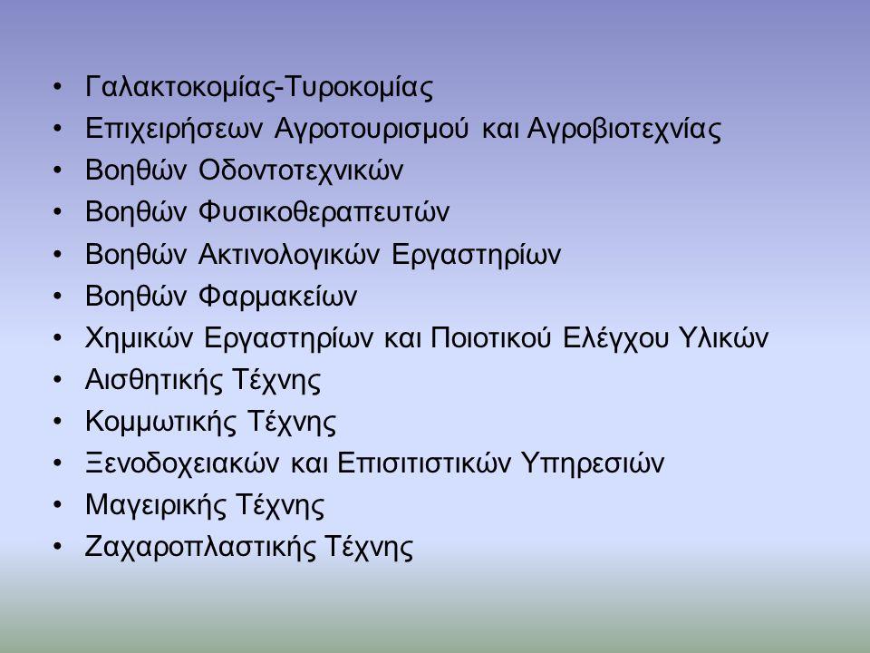 Γαλακτοκομίας-Τυροκομίας