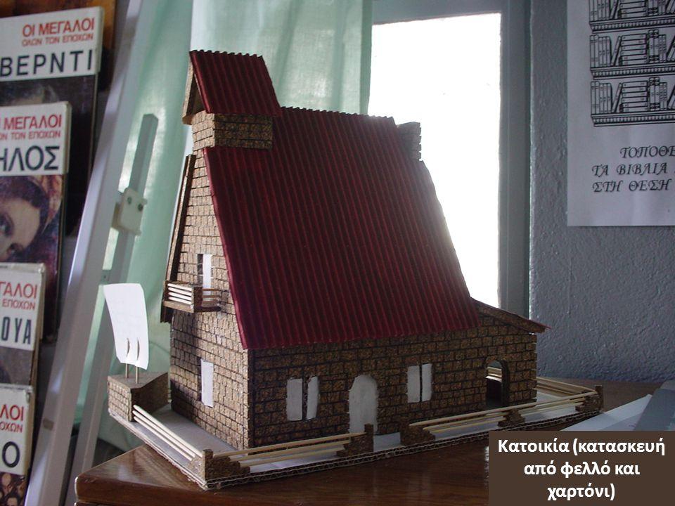 Κατοικία (κατασκευή από φελλό και χαρτόνι)