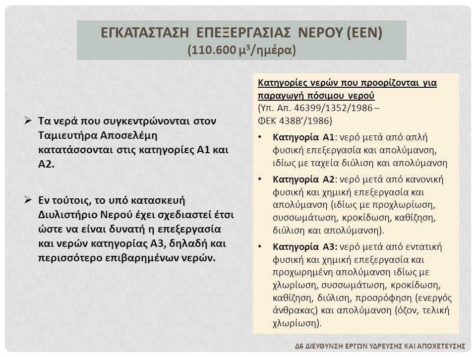 ΕΓΚΑΤΑΣΤΑΣΗ ΕΠΕΞΕΡΓΑΣΙΑΣ ΝΕΡΟΥ (ΕΕΝ)