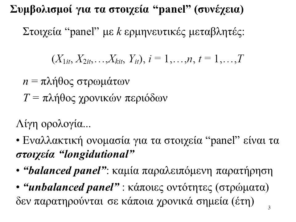 Συμβολισμοί για τα στοιχεία panel (συνέχεια)