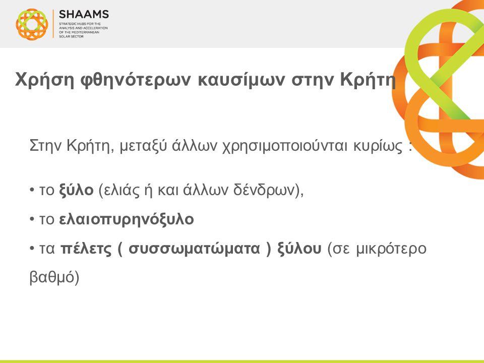 Χρήση φθηνότερων καυσίμων στην Κρήτη