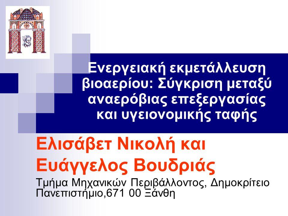 Ευάγγελος Βουδριάς Ελισάβετ Νικολή και
