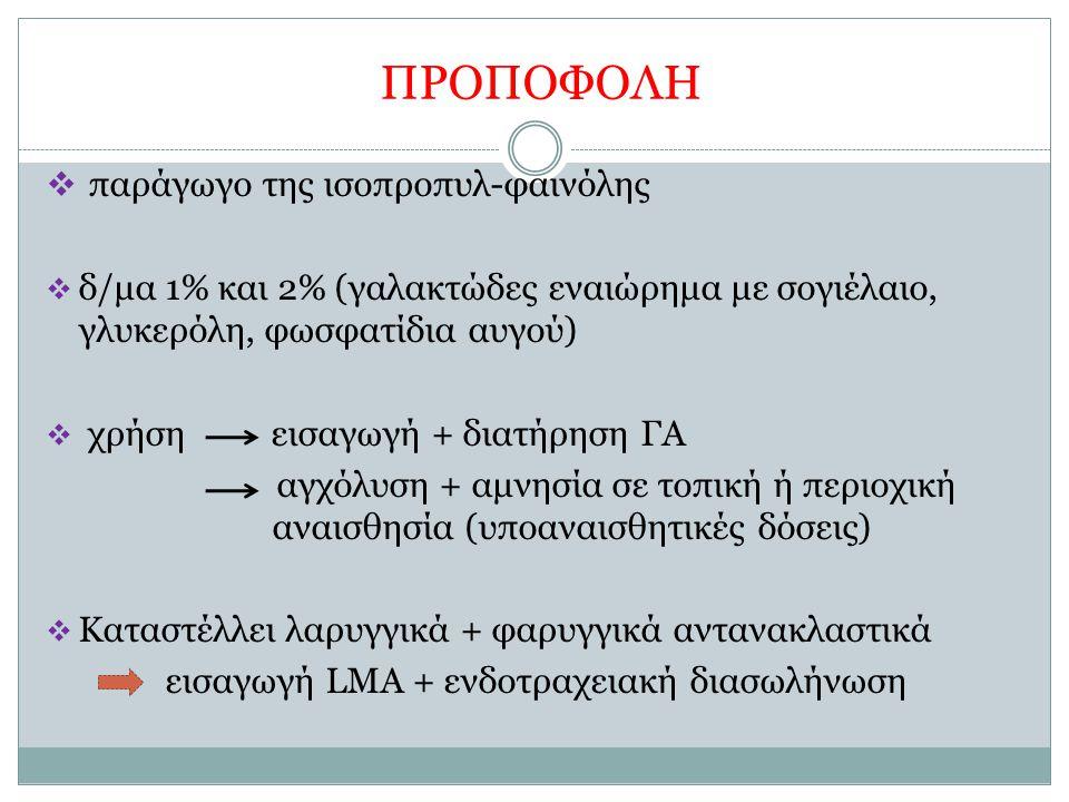 ΠΡΟΠΟΦΟΛΗ παράγωγο της ισοπροπυλ-φαινόλης