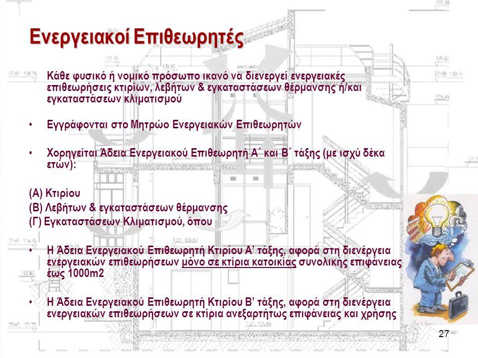 Ενεργειακοί Επιθεωρητές