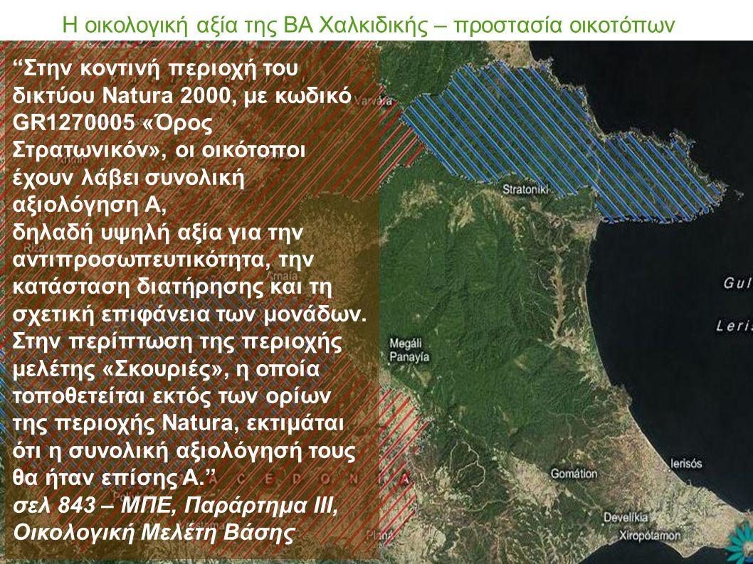 Η οικολογική αξία της ΒΑ Χαλκιδικής – προστασία οικοτόπων