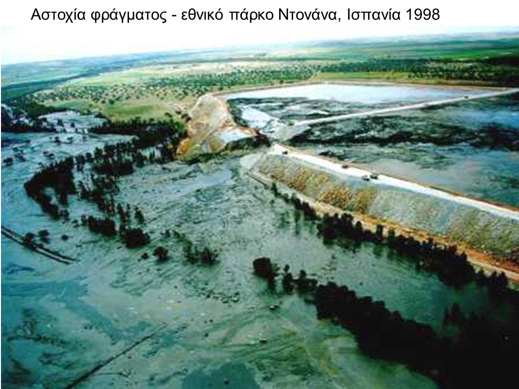 Αστοχία φράγματος - εθνικό πάρκο Ντονάνα, Ισπανία 1998