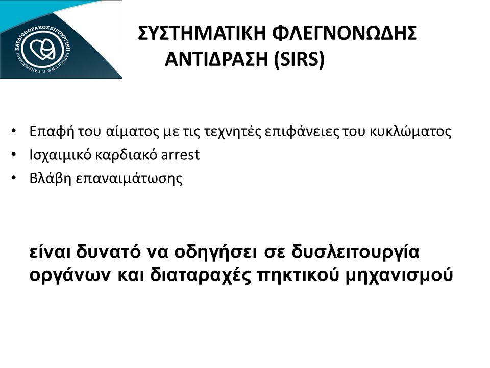 ΣΥΣΤΗΜΑΤΙΚΗ ΦΛΕΓΝΟΝΩΔΗΣ ΑΝΤΙΔΡΑΣΗ (SIRS)
