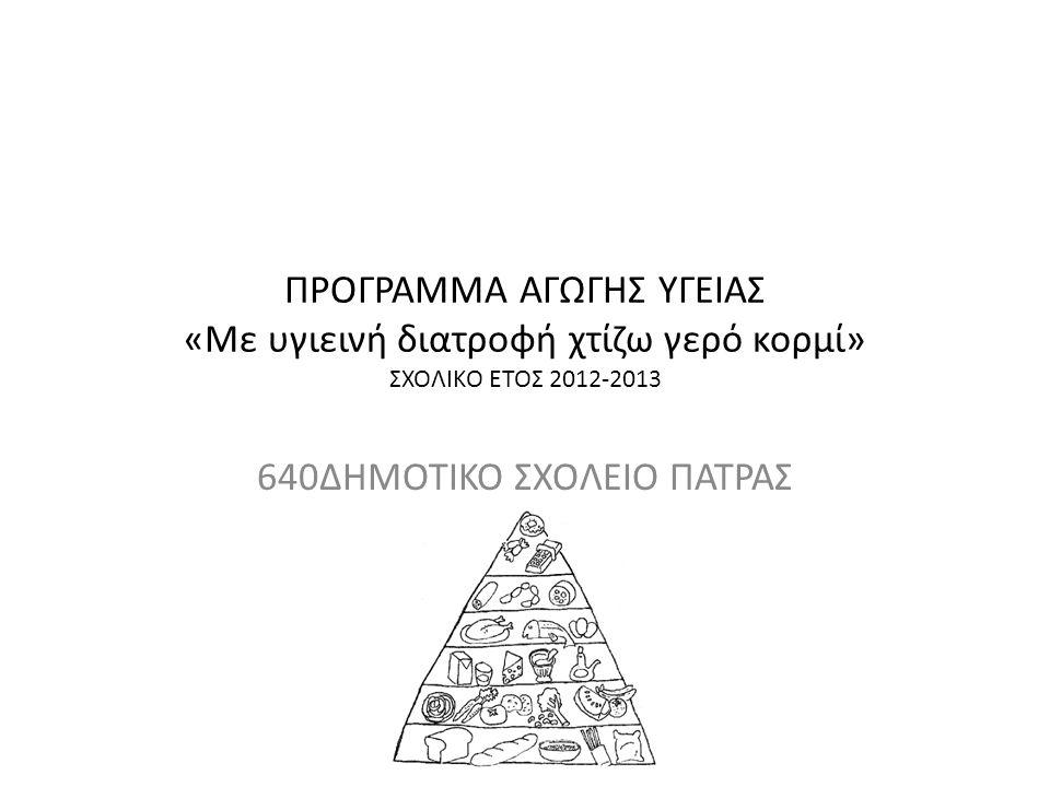 ΔΗΜΟΤΙΚΟ ΣΧΟΛΕΙΟ ΠΑΤΡΑΣ