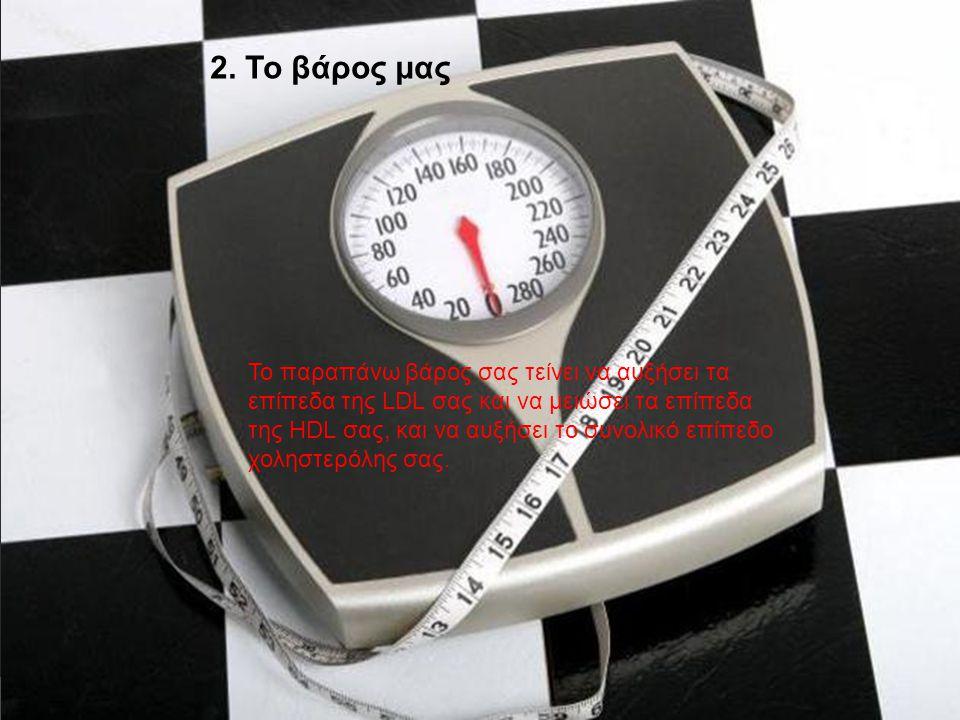 2. Το βάρος μας