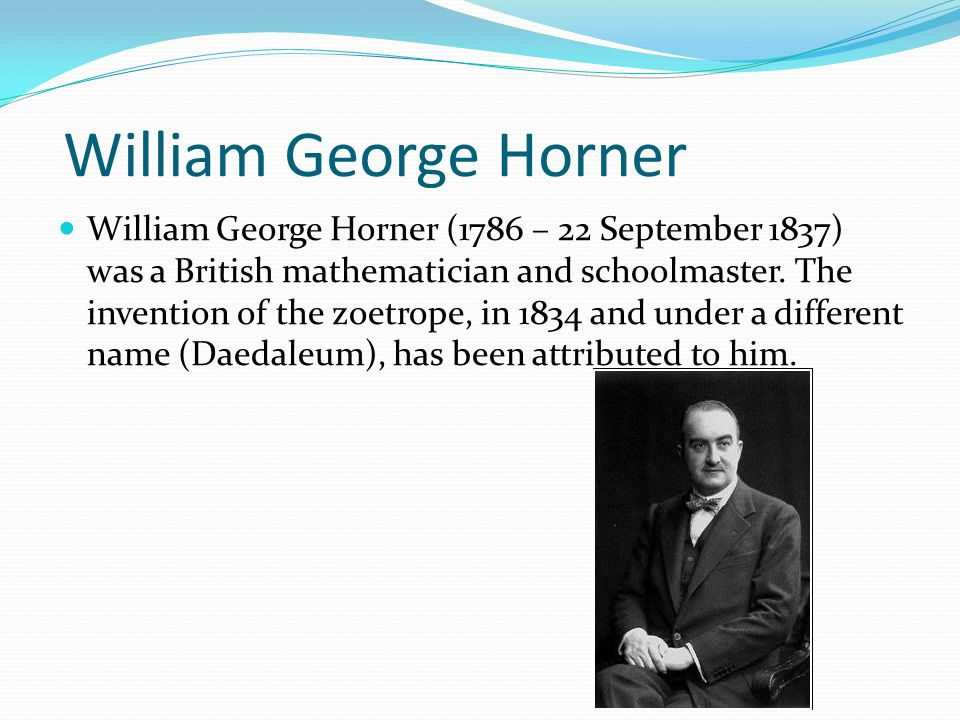 William George Horner