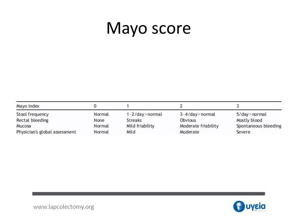 Mayo score