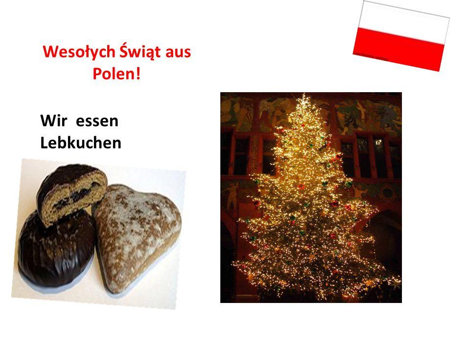 Wesołych Świąt aus Polen!