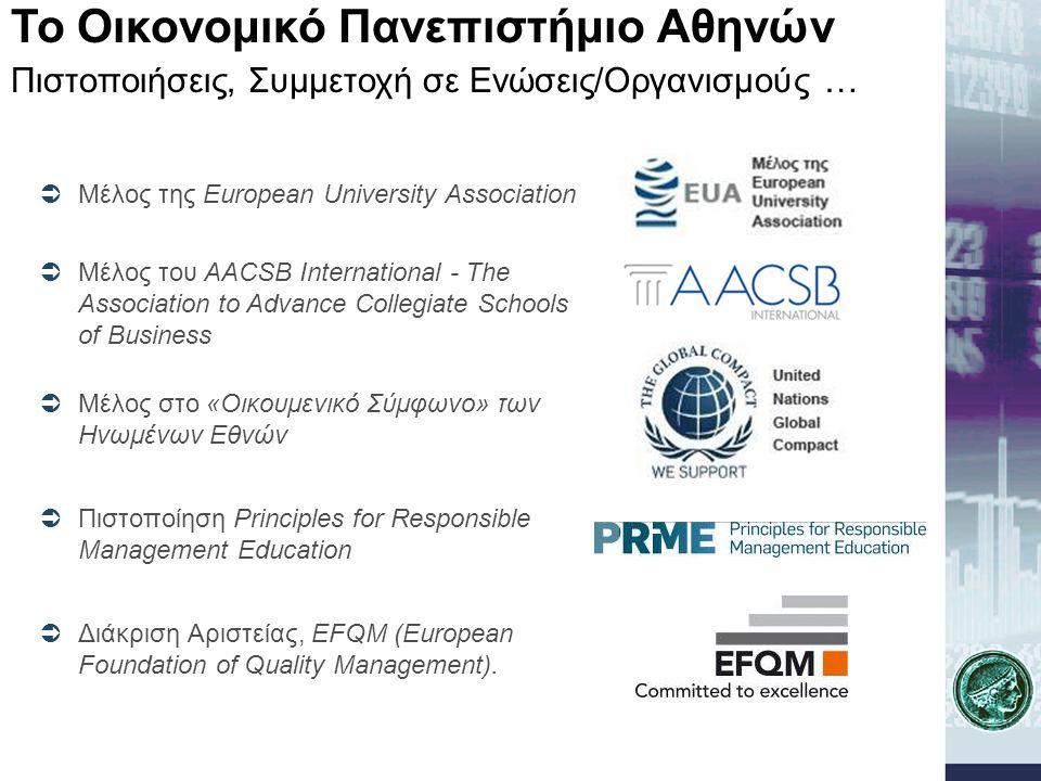 Το Οικονομικό Πανεπιστήμιο Αθηνών