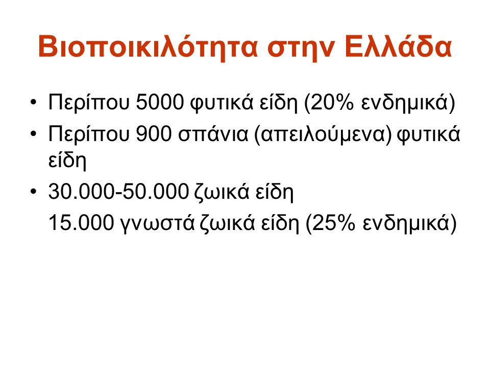 Βιοποικιλότητα στην Ελλάδα
