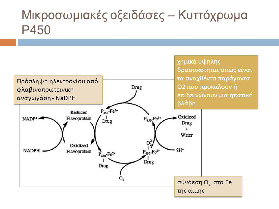 Μικροσωμιακές οξειδάσες – Κυττόχρωμα P450