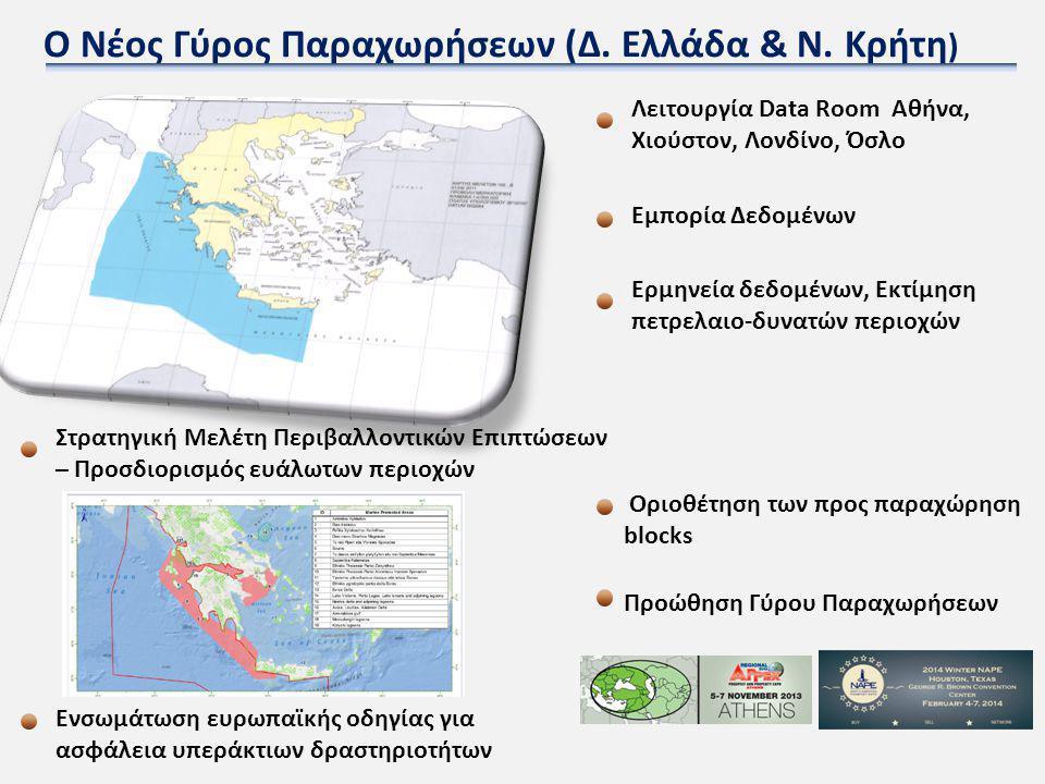 Ο Νέος Γύρος Παραχωρήσεων (Δ. Ελλάδα & Ν. Κρήτη)