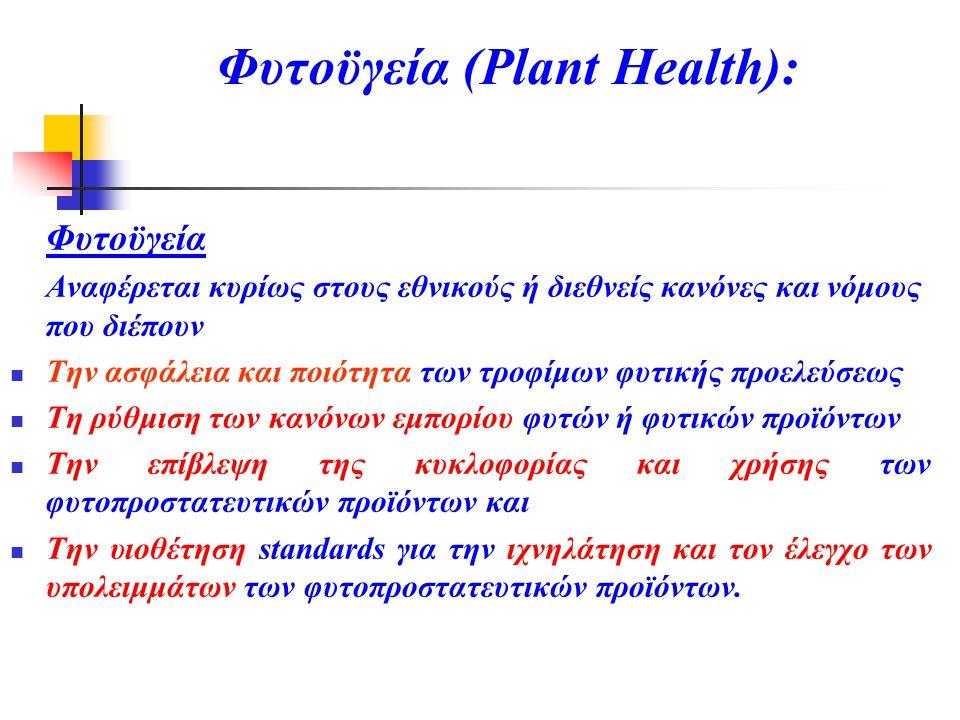 Φυτοϋγεία (Plant Health):
