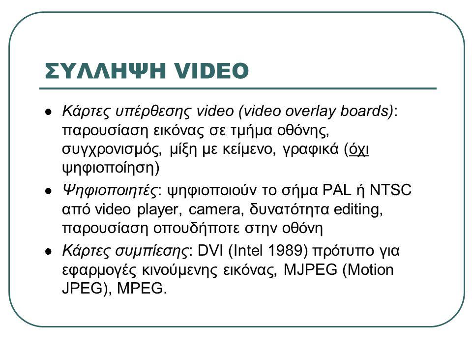ΣΥΛΛΗΨΗ VIDEO