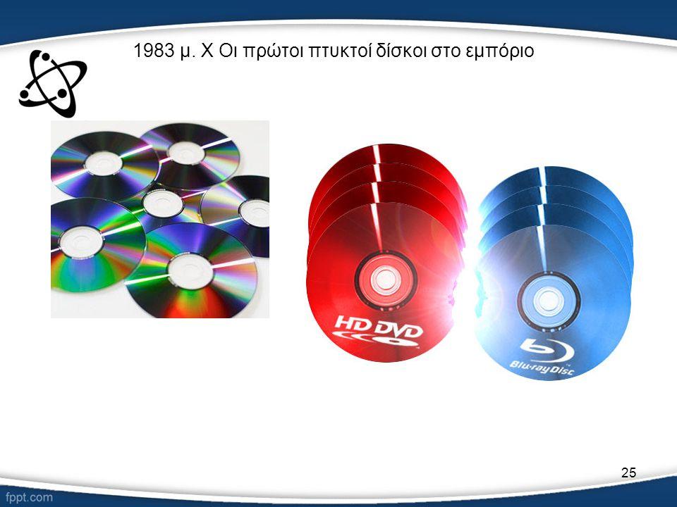 1983 μ. Χ Οι πρώτοι πτυκτοί δίσκοι στο εμπόριο