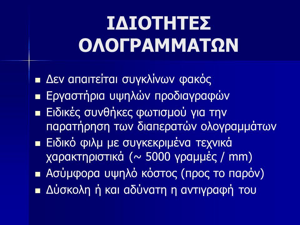 ΙΔΙΟΤΗΤΕΣ ΟΛΟΓΡΑΜΜΑΤΩΝ