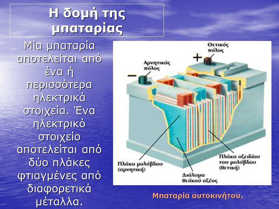 Η δομή της μπαταρίας