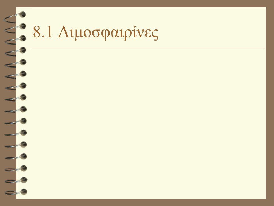 8.1 Αιμοσφαιρίνες