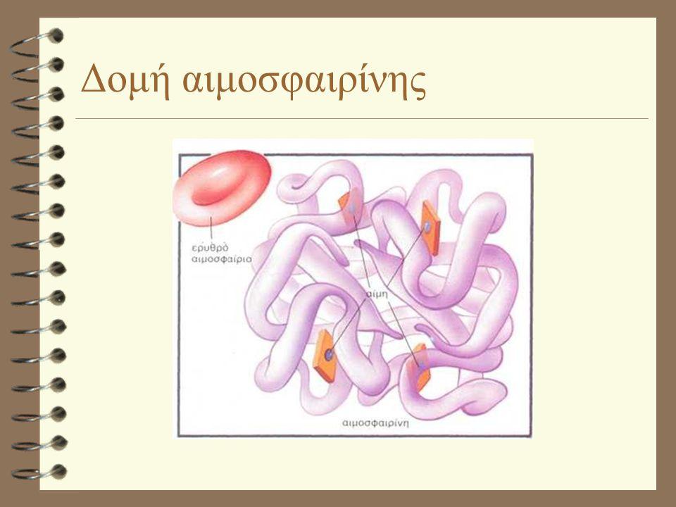 Δομή αιμοσφαιρίνης