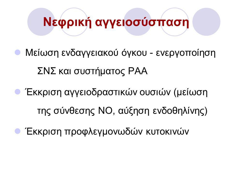 Νεφρική αγγειοσύσπαση