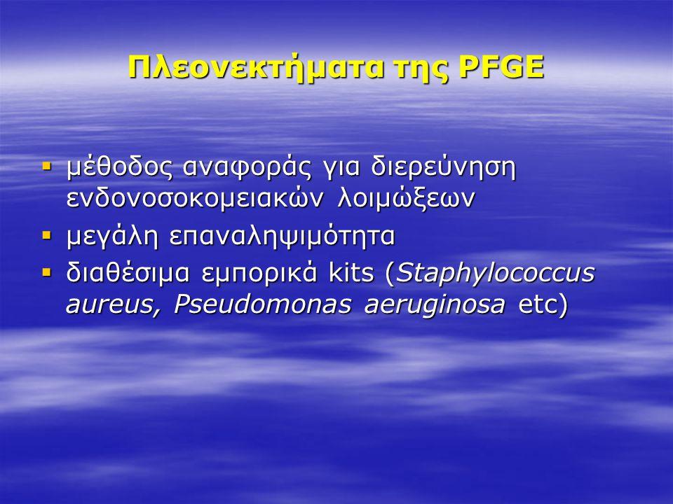 Πλεονεκτήματα της PFGE